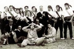 Grupo de paloteo. Subida 1960